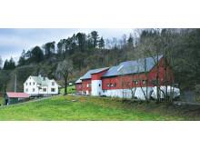 Ostegården farm located in Bergen, Norway.