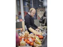 Over 2.300 kunder benyttede de mange gode tilbud på åbningsdagen i den nye Lidl-butik på Amagerbrogade.