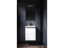 Macro_Design_Crown_450_Vit_Plain_Porslin_70_Spegel_Belysningsarm_Helix