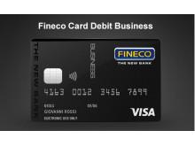 Fineco Card Debit Business