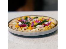 Klimatsmart pizza på svenska och nordiska råvaror