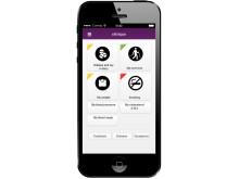 """Interaktivt patientverktyg i form av en """"app"""""""