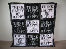 Zandra Ahl. Think Happy, Be Happy. Ingår i utställningen på Röhsska museet.