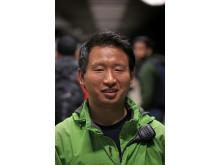 Yizhou Zhang. Foto: Peter Larsson
