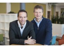 Mikael Johannesson och Paul Hemeren
