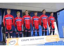 Juniorlandslaget Paris-Roubaix junior 2015