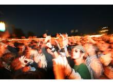 Publikhav på festival