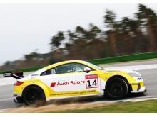 Audi Sport TT Cup-bilen på Hockenheim-banen