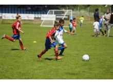 Myresjö IF har fått fotbollarna med anledning av att de firar 75-årsjubileum i år.