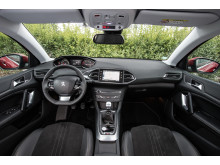 Sverigepremiär nya Peugeot 308_interiör