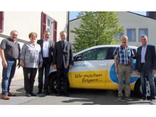 VG Oberviechtach testet E-Auto