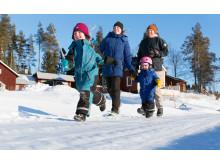 Hållbart i Holmsvattnet, familjen Sjöstedt