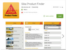 High res image - Sika Limited - Product Finder App