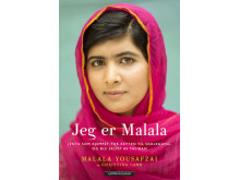 Omslag Jeg er Malala