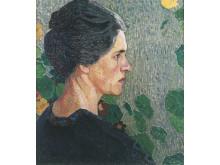 Ellen Trotzig (1878-1949), olja på duk, 1915