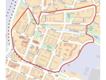 Karta_Norr Här införs parkeringsavgift 1 augusti.