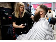 Marielle Johansson, The Infamous Westcoast Barbershop, Varberg