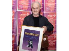 SKAP och Manifests pris till årets textförfattare Charlie Engstrand Sommar.