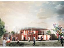 Informations- og aktivitetscenter i Gellerup