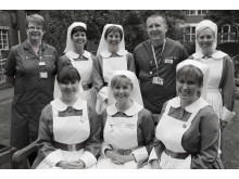 Senior nursing team