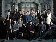Ensemblen i Saturday Night Live (fotad under säsong 39).