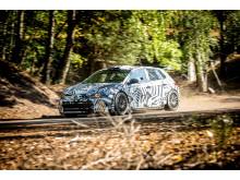 Polo GTI R5 är redo för rallyvägarna.