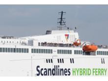 """Scandlines' neue Hybridfähre """"Berlin"""""""
