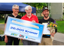 Erik Lundevall får 2016 års ungdomsledarstipendium