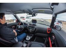Autonomous Kia Soul EV 2