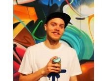 Graffitiworkshop 10-11 augusti på Ungdomens hus i Partille. Adam Appear37 Algotsson