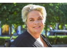 Lotta Lyrå, konsernsjef i Clas Ohlson, var til stede under åpningen av «Hemma hos».
