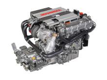 High res image - YANMAR - new 4LV marine diesel engine - right side back