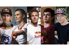 Se Red Bulls 5 talenter som vi er stolte sponsorer af