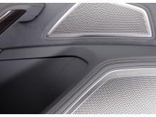 Audi A8 L - dør med Bang og Olufsen højtalere