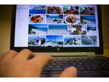 Kuvituskuva, digitaalisten kuvien varmuuskopiointi