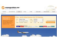 Reseguiden.se  bäst på flygpriser i stort test