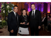 Mark Pearce (Choice), Fanny Gaucher (Quality Hotel Bordeaux Centre),