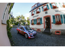 Thierry Neuville i Rally Tyskland