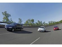Ford Focus med 1,0-liters EcoBoost-motor sätter sexton hastighetsrekord