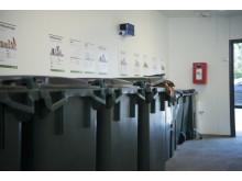 Airmaster BlueLine luktborttagning i soprum / återvinningsrum