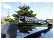 Hellas extraljusramp LED 350 med justerbara hållarfötter
