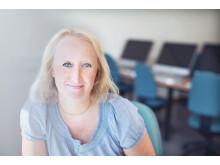 Pia Sundqvist, docent i engelska. Foto Maria Obed