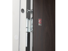 Daloc S23 security door - Dog bolt