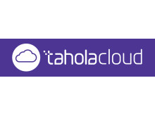 Cloud - White on Purple - TaholaCloud & Logo