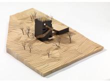 Byggekunst. Steven Holl, Knut Hamsun-senteret, 1998
