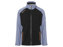 M Edge Jacket Stonewash Black Front - Cross Sportswear