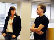 Karin Hjerpe, Jordbruksverket och Stefan Wirsenius, Chalmers