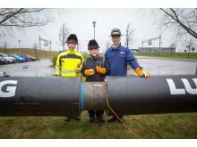 Sveriges längsta gemensamma fjärrvärmeledning