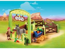 Pferdebox Snips & Herr Karotte von PLAYMOBIL (70120)