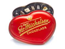 Hjärtformad chokladask med praliner - 1